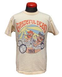 "TOYSMcCOY(トイズマッコイ)GRATEFULDEADTEE""BEAR&CHOPPER1969""TMC2143「P」メンズアメカジ男性半袖Tシャツ"