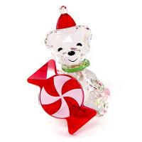 スワロフスキーSWAROVSKIクリスタルフィギュアクリスベアKrisBearクリスマスCHRISTMAS2021年度限定生産品#5597045インテリア置物〇熨斗不可送料無料