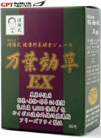 万葉効草EX・済陽式健康野草ジュース(30包入り)トップ