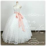 刺繍のビスチェが豪華なウェディングドレス7号9号11号結婚式や二次会海外挙式フォトウェディングにお勧めしますgcd8872