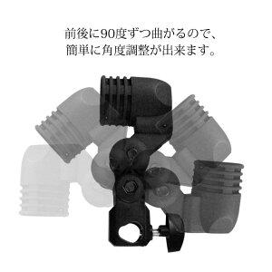 クランプ撮影用機材一口ソケットメスタボ照明写真撮影アンブレラと電球と三脚に装着出来ます!E26口金