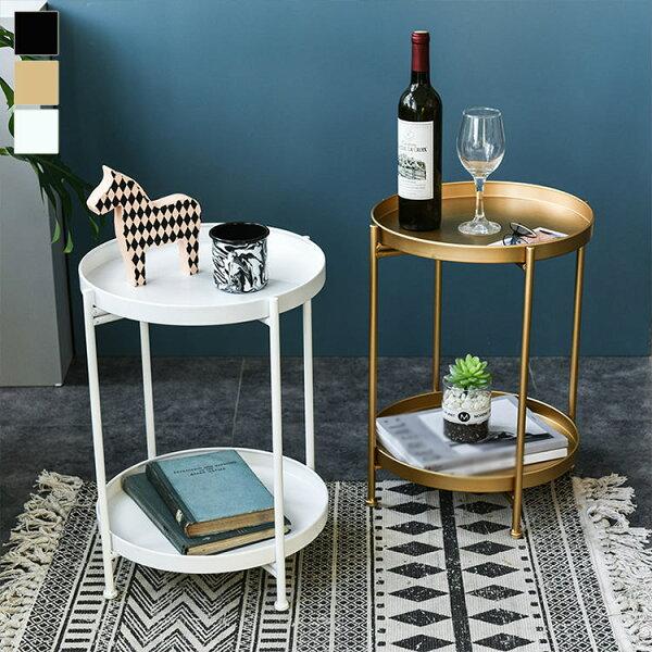 サイドテーブル北欧おしゃれナイトテーブルテーブル円形丸型家具コンパクトスリム収納丸小さいリビングベッドサイドテーブルベッドテーブ