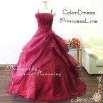 grace企画 カラードレス 赤レッド系