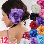 お花のコサージュヘッドドレス・髪飾り
