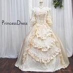 grace企画|カラードレス|ベージュ系お姫様