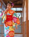 【送料無料】 浴衣 セット 女性浴衣  小袋帯 下駄 セット レトロ ...