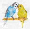 クロスステッチ刺繍キットアリサALISAインコ