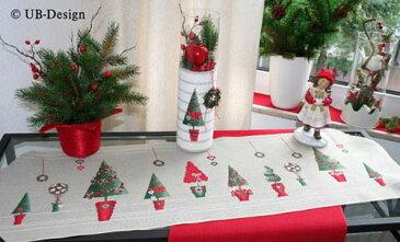 ドイツのクロスステッチ刺繍図案 UB Design/UB デザイン クリスマスツリー