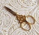 刺繍ハサミws83ゴールド ドイツ ゾーリンゲン製 手芸 糸切り 刺繍 鋏【05P07Feb1…