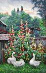 メール便送料無料 オーブン OVEN クロスステッチ刺繍キット ロシアの田舎の夕暮れ 18ct 風景 景色 クロスステッチキット ししゅう 刺繍