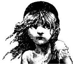 《レ・ミゼラブル(中)~アンマウント》 持ち手のないゴム印(クッションなし) 【アンマウント...