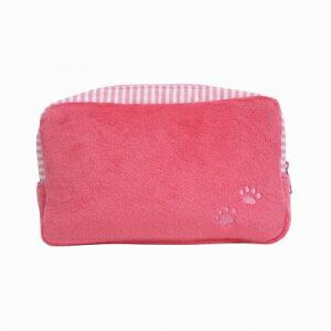 マチ付きポーチ 【プードル ピンク】 超キュート♪ ペットお散歩バッグとお揃いで♪ BE