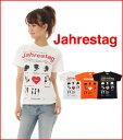 【メール便 送料無料 】買い回り 買いまわり 5.6oz プリントTシャツ 半袖|Jahrestag (記念日)|XS~Lサイズ、メンズ・レディース、お揃い・ペアルック◎|GRACIOUS GROUND (グレイシャス グラウンド)|【auktn】