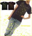 Eine Sternschnuppe(流れ星) Tシャツ /全2色【メール便、レターパック対応】【auktn】