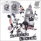 【メール便送料無料】 gravitation London Collage Tシャツ/全2色【あす楽】【auktn】