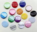 みんな大好き!GRACIOUS GROUND ロゴ缶バッジ/全16色【あす楽】【楽ギフ_包装】【auktn】【RCP】05P23Sep15