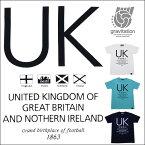 【メール便送料無料】 gravitation/UK Tシャツ/全3色【あす楽】【auktn】
