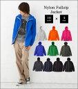 ナイロンフルジップジャケット/全10色×4サイズ【auktn】05P23Sep15