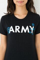 4.4ozトライブレンドプリントTシャツ半袖|ARMY×ボックスロゴ、SARMY(寒ーみー)|XS~Lサイズ、メンズ・レディース、お揃い・ペアルック◎|GRACIOUSGROUND|【メール便、レターパック対応】【auktn】05P18Jun16
