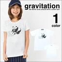 【メール便 送料無料】パンダ Tシャツ メンズ レディース お揃い ペアルック 半袖 父の日 ギフト サッカー フットボール gravitation ( グラビテーション )パンダ Tシャツ プリント 5.0オンス【メール便 送料無料】後払い コンビニ