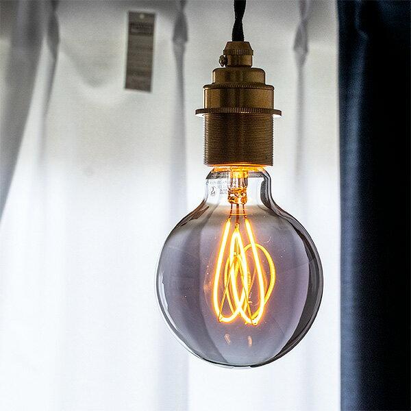 【LED電球 LEDデコレーション電球 CURVE(カーブ) E26 4ワット 100ルーメン 2200ケルビン 電球色 LED エジソン電球 カーボン電球 レトロ 裸電球 カフェ バー レストラン キッチン ダイニング おしゃれ 間接照明】