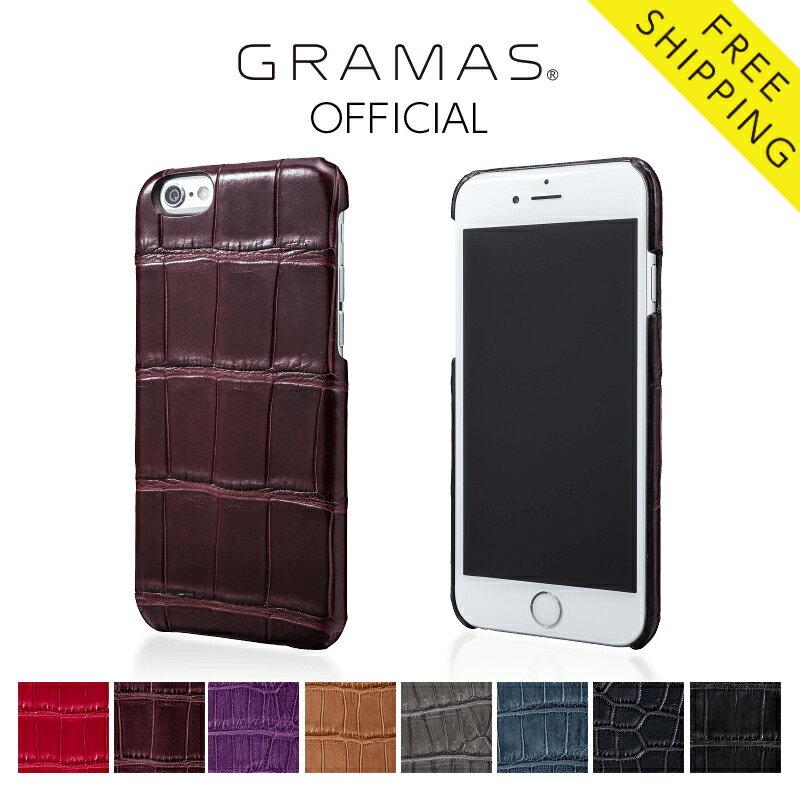公式通販 GRAMAS Meister Crocodile Case for iPhone 6s グラマス  マイスター クロコダイル アイフォンケース iPhoneケース  MI8014:GRAMAS Official Shop