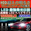 送料無料 最強発光伝説16000LM LEDヘッドライト フレアワゴン MM53S H29.12〜 H4 HI/Lo切替 車種専用で簡単安心取付 新基準車検対応6500k HID超えの発光量 安価な類似品にご注意
