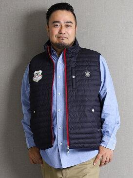 【大きいサイズ・メンズ】SINA COVA (シナコバ)ダウンベスト