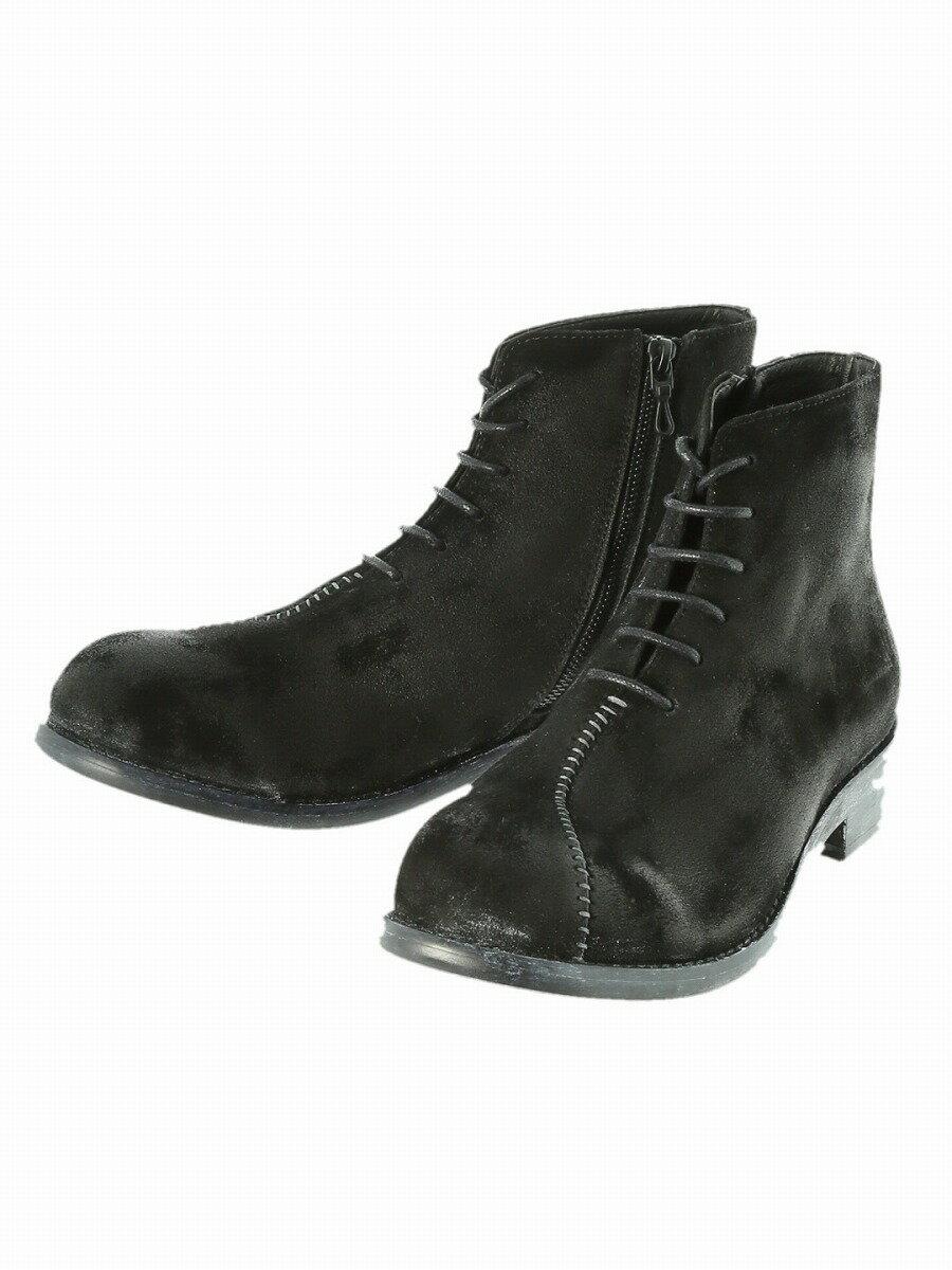【メンズ】シェラック/SHELLAC スウェードブーツ ブーツ