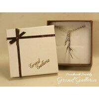 【GrandGalleriaグランドガレリア】鹿の角ネックレスペンダント35~60cmシルバーアクセサリーシルバー925真鍮ブラスハンドメイド手作りメンズ彼氏ペア誕生日プレゼントギフト包装