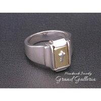 ハンドメイドジュエリーGrandGalleria(グランドガレリア)のクロスリング/シルバー925