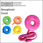 MercuryDoughnutCordドーナッツコード(3つ叉電源延長コード)