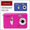 VISTAQUEST(ビスタクエスト)VQ7220 トイカメラ(トイデジ)