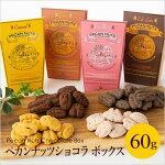 ペカンナッツショコラシーズナルボックス60g(キャラメル/ココア/ベリーベリー/カフェラテ)【あす楽対応】