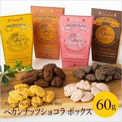 ペカンナッツショコラ60g シーズナルボックス4種