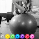 バランスボール 55cm 65cm 75cm フットポンプ付き 空気入れ 耐荷重200kg フィットネスボール 椅子 ダイエット器具 ダイエット 器具 ヨガ ボール エクササイズ