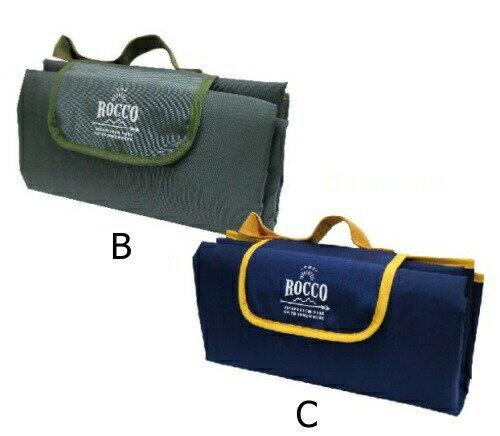 ロッコ ピクニックシート 全3色 ROCCO Picnic Sheet BK/OC KH/GY OR/NV アウトドア レジャー ピクニック マット