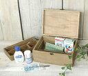 アンティーク風 エニ—ボックス azi-azi アジアジ シンプル 救急箱 救急箱 木箱 かわいい ナチュラル くすり箱 クスリ箱 おしゃれ