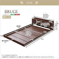 デザインフロアベッド【ブルース-BRUCE-(シングル)】【OG】