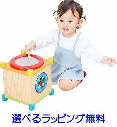 【最大2,000円オフクーポン発行中!】【Im TOYアイムトイ】メロディーキューブ | 誕生日 1歳 男 おもちゃ 女 木のおもちゃ 知育玩具 木製玩具