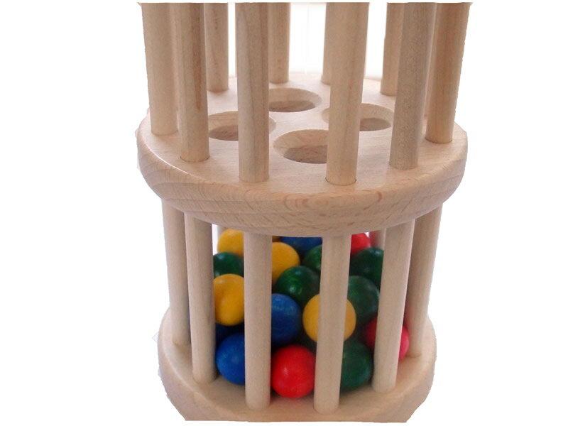 ニック nic ドラム玉落とし 知育玩具1歳 知育玩具0歳 ラトル がらがら おもちゃ 1歳 出産祝い 1歳誕生日 誕生日1歳 NIC 初節句 誕生日プレゼント 男の子 女の子 1歳 2歳 【02P01Oct16】