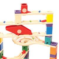ボーネルンドBorneLundNEWクアドリラ・ツイスト&レールセットスロープトイスロープおもちゃ誕生日1歳2歳3歳