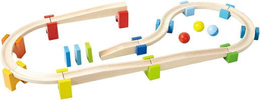 HABAハバ社木のおもちゃドイツ製ベビークーゲルバーン・大木製玩具知育玩具スロープトイスロープおもちゃ1歳2歳3歳誕生日プレゼント
