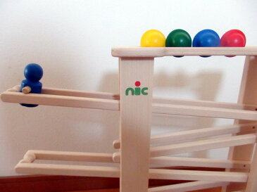ニック nic NICスロープ ニックスロープ 【木のおもちゃ 木製 知育玩具 出産祝い 誕生日 スロープ ニック ニックスロープ 赤ちゃん ベビー 0歳 1歳 2歳 3歳】グランデ 【02P01Oct16】