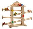 【最大2,000円オフクーポン発行中!】フラワーガーデン Playme スロープトイ プレイミー 木のおもちゃスロープ おもちゃ 0歳 1歳 2歳 誕生日 木のおもちゃ ニックスロープ NICスロープとほぼ同じ大きさ 玉の道 玉落とし 【02P01Oct16】