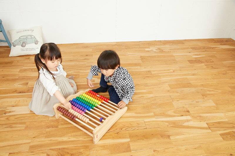 【NEWバージョン!!】木のおもちゃ エトボイラ 知育玩具 レインボーアバカス 誕生祝い 木のおもちゃ ボイラ 【お誕生日】 3歳 アバカス オモチャ 4歳 3歳誕生日 誕生日3歳 おもちゃ 100玉そろばん 【02P01Oct16】