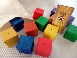 積み木ベビーキューブ1歳赤ちゃんsinaジーナ木のおもちゃ積木つみき出産祝い0歳1歳2歳木製玩具おもちゃ誕生日知育玩具幼児教育売れ筋