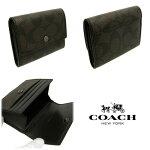 COACH/コーチコインケースメンズコインケース新作シグネチャーコインケースF75028