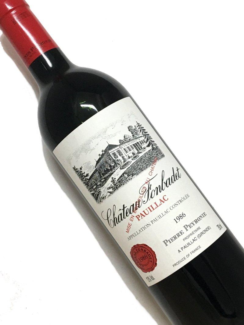 ワイン, 赤ワイン 1986 750ml
