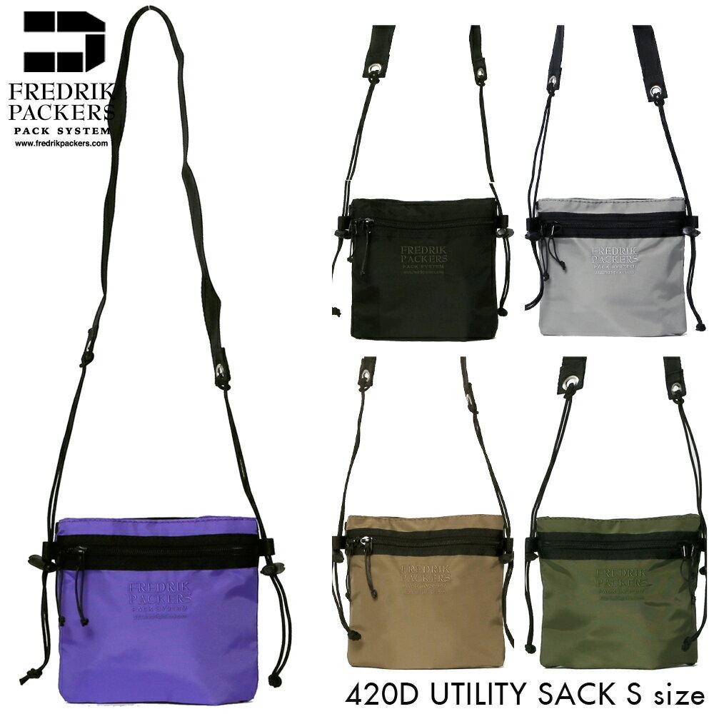 男女兼用バッグ, ボディバッグ・ウエストポーチ FREDRIK PACKERS 420D UTILITY SUCK S fp-420d-utsuck-s